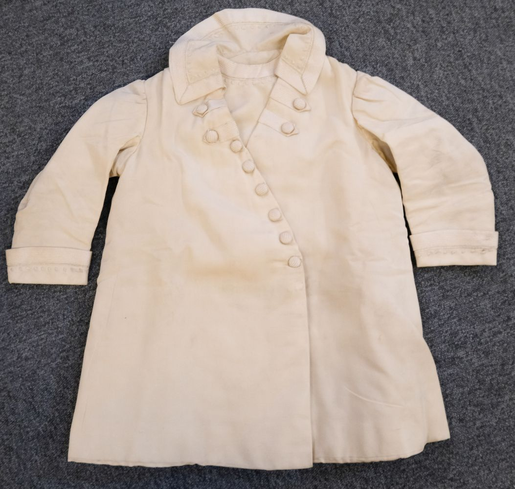 * Children's clothes. A boy's mourning dress, circa 1840 - Image 7 of 9
