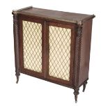 * Cabinet. Regency period mahogany pier cabinet