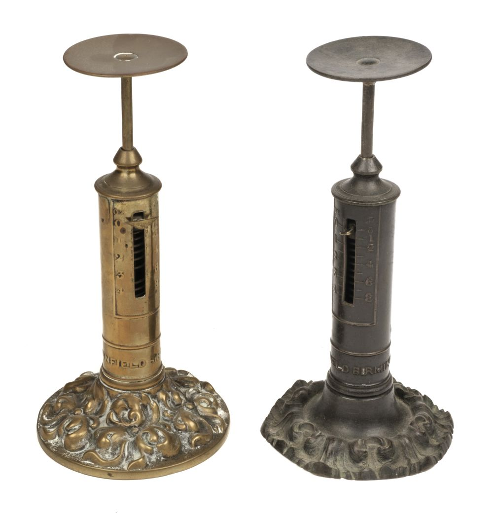 * Scales. Victorian letter scales by R W Winfield, Birmingham