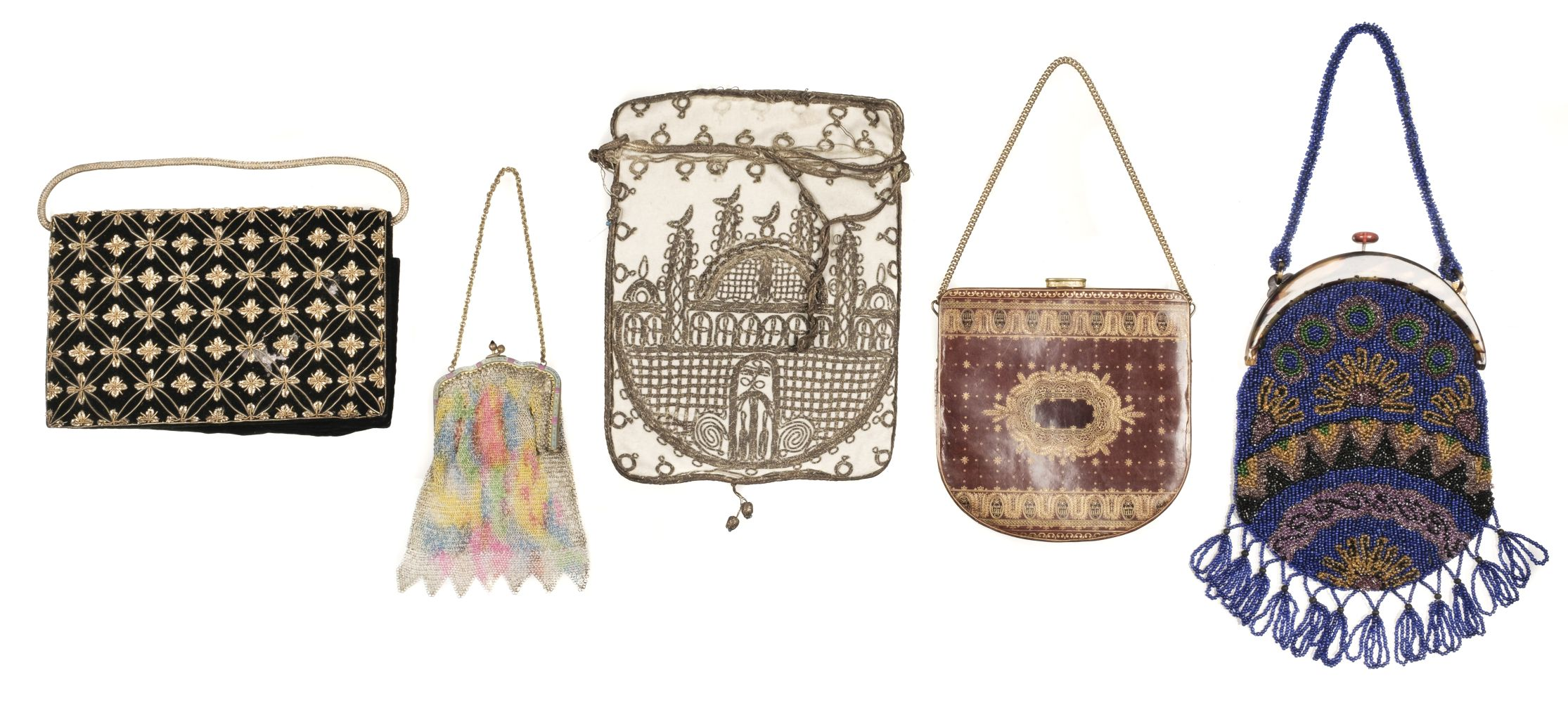 * Bags. A collection of beaded bags and other accessories, late 19th-early 20th century