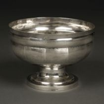 * American Silver. Bowl by Hugh Wishart, New York circa 1790
