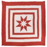 * Quilt. A Durham quilt designed by Elizabeth Sanderson, circa 1910-1920