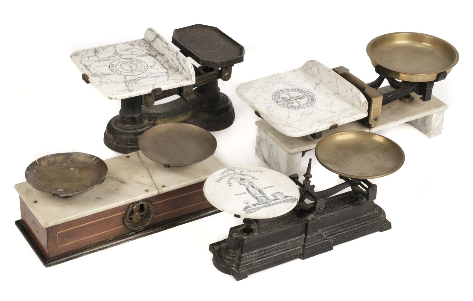 * Scales. Yandell and Parnall & Sons scales