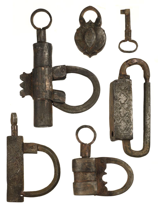 * Islamic Locks. A collection of Islamic iron locks