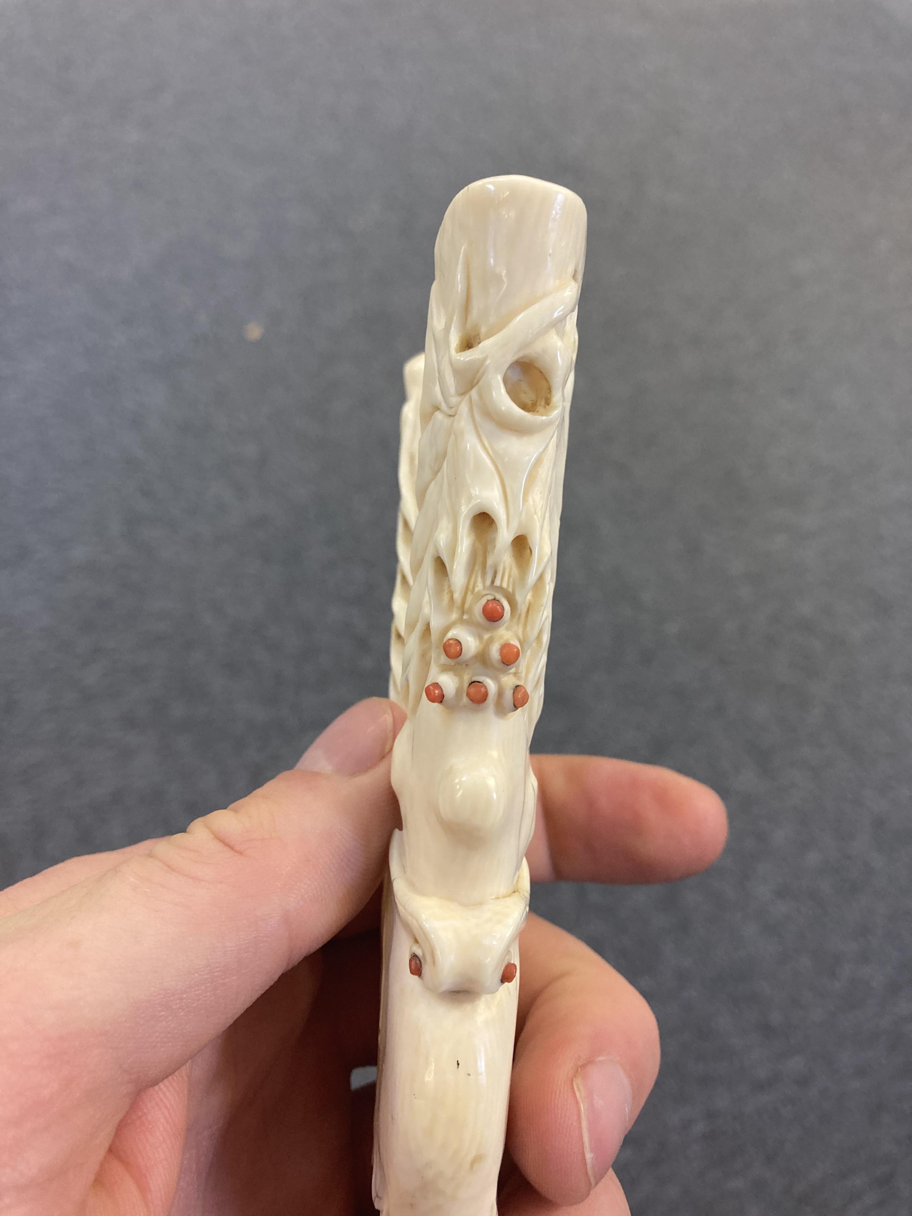 * Glove Stretchers, Victorian ivory glove stretchers - Image 8 of 10