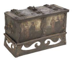 * Casket. German Nuremberg casket, probably 17th century