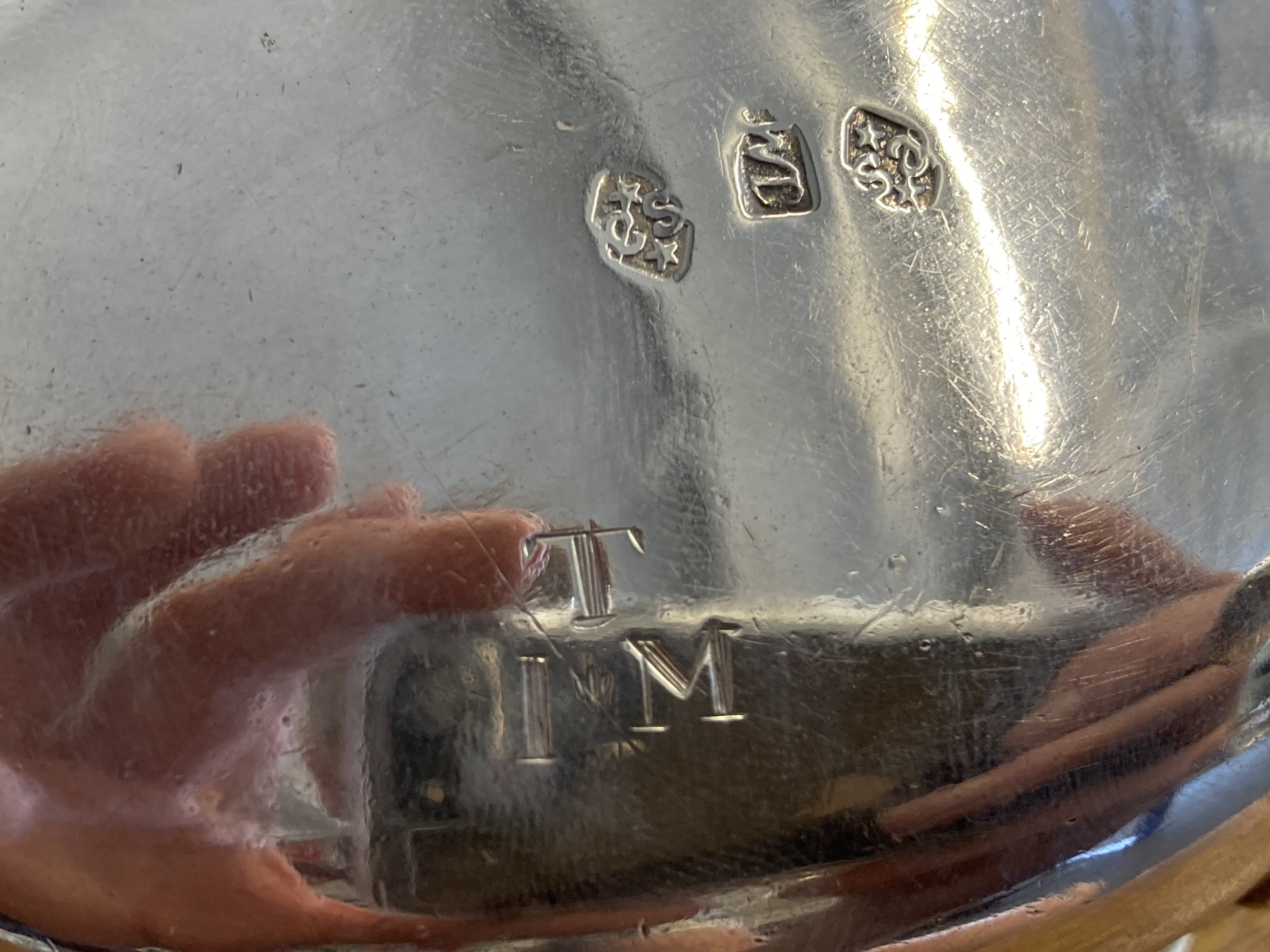 * Silver Sauce Boat, 18th century - Image 3 of 6