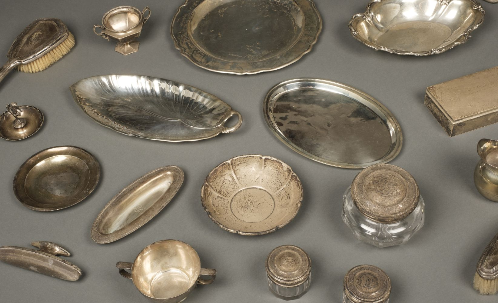 * American Silver. Mixed collection