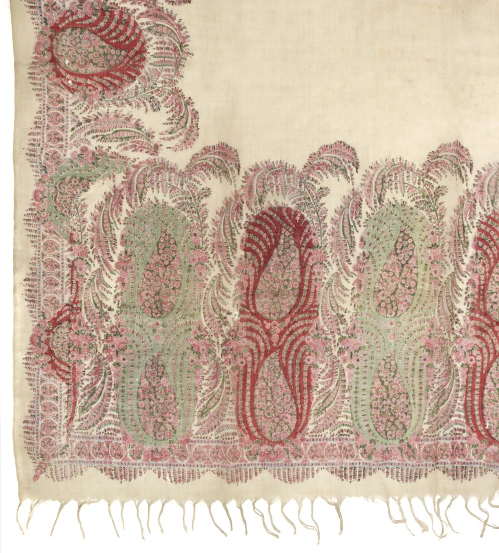 * Shawls. Two Norwich shawls, circa 1860-1880 - Image 2 of 2
