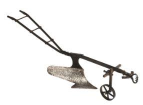 * Apprentice Piece. Miniature farmers plough