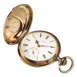 * Pocket Watch. Edwardian 14K gold pocket watch by J. Barth & Fils, Geneva