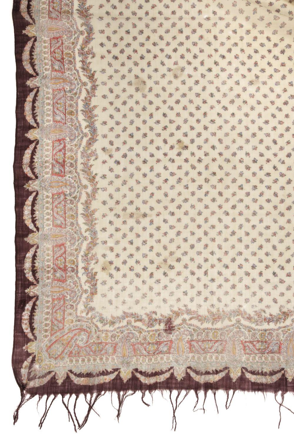 * Shawls. Two Norwich shawls, circa 1860-1880
