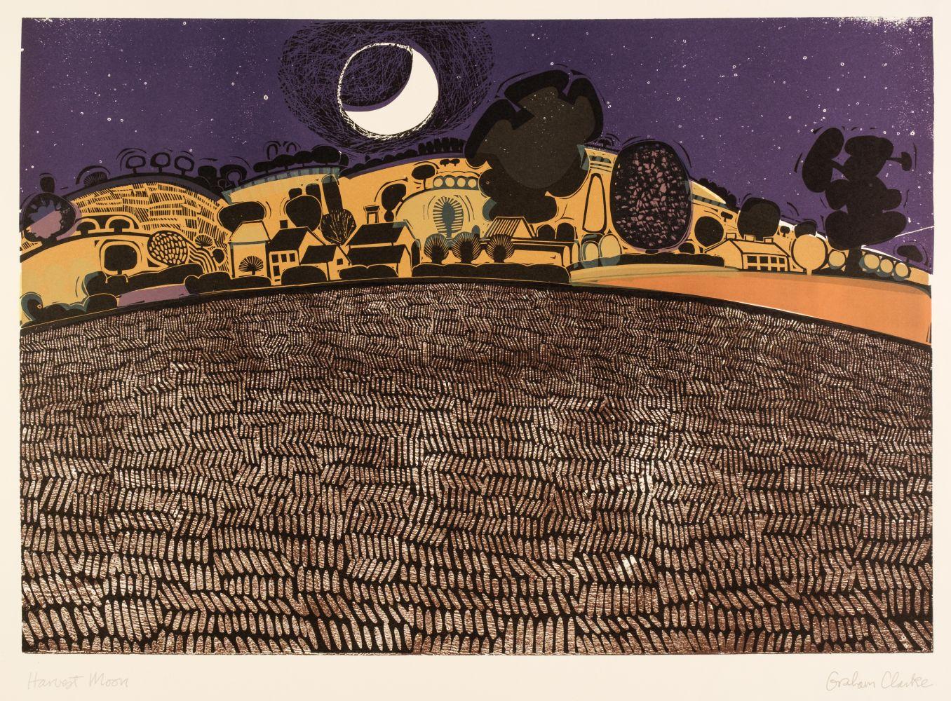 ARR * § Clarke (Graham, 1941-). Harvest Moon, circa 1966