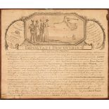 * Artist's box. An artist's box, circa 1810