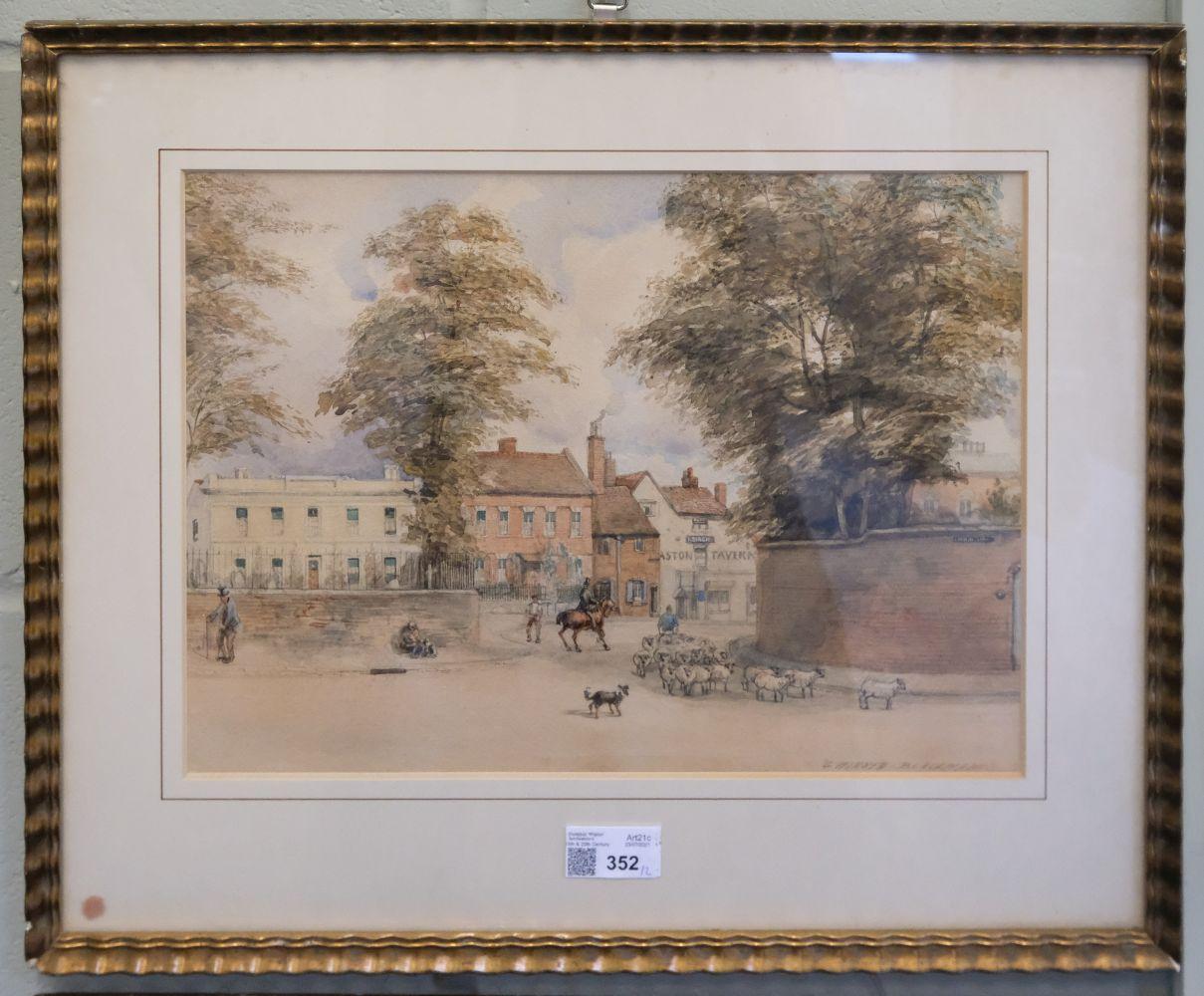 * Blackham (George Warren, active1888-1906). Scenes of Birmingham - Image 2 of 7