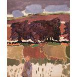 * Carrington (Joanna, 1931-), Woman with Cows, 1990