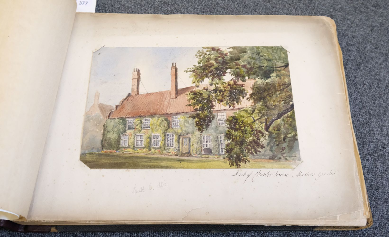 * Yorkshire. Hull and Neighbourhood, Sketches 1882-1883 - Image 3 of 15