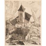 ARR * § Beaumont (Leonard 1891-1986). Italian Mountain Village