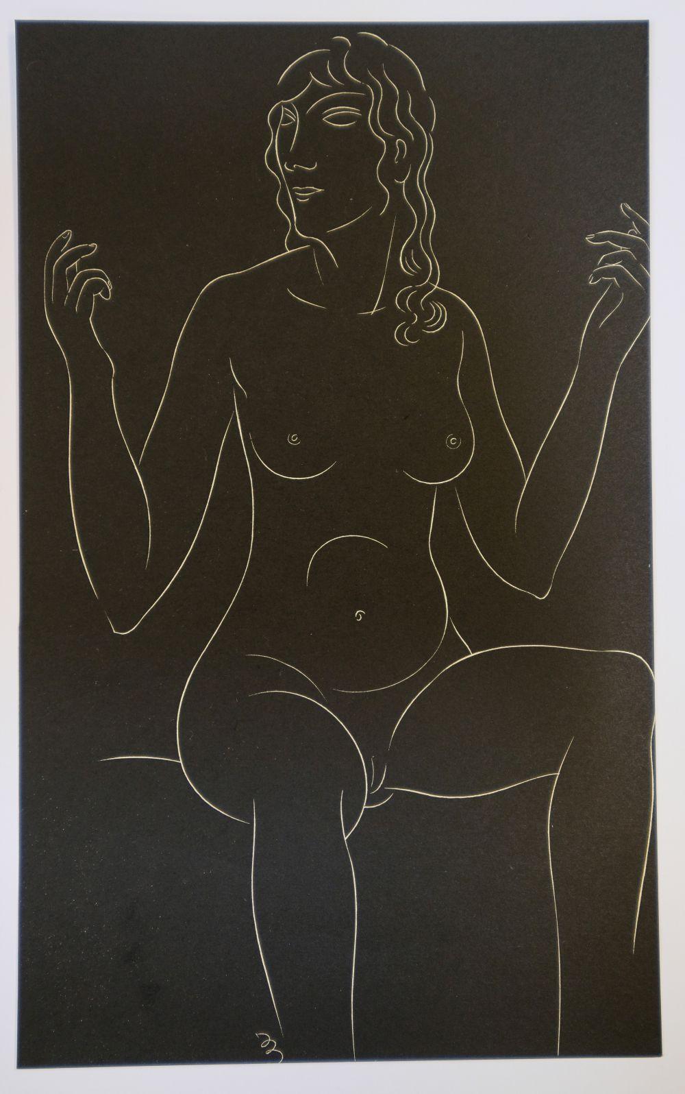 * Gill (Eric, 1882-1940). Twenty-Five Nudes: Six Plates, 1937 - Image 4 of 7