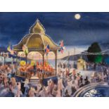 * Dawson (Eric, 1918- ). Dancers at the Bandstand, 1990, and two others