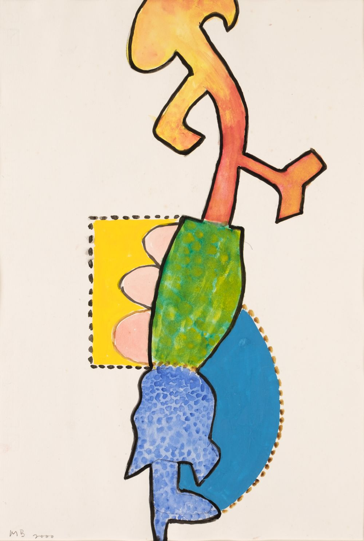 * Broido (Michael, 1927-2013). Composition, 2000