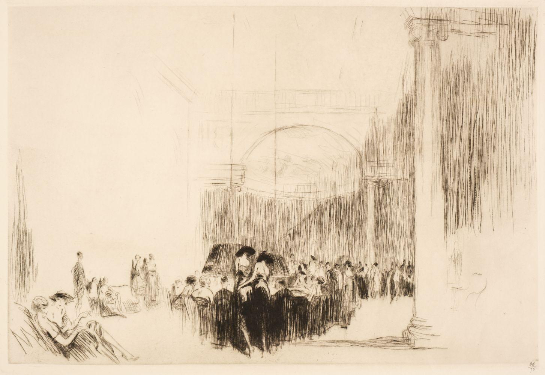 * Shepperson (Claude Allin, 1867-1921). Roulette: Monte Carlo