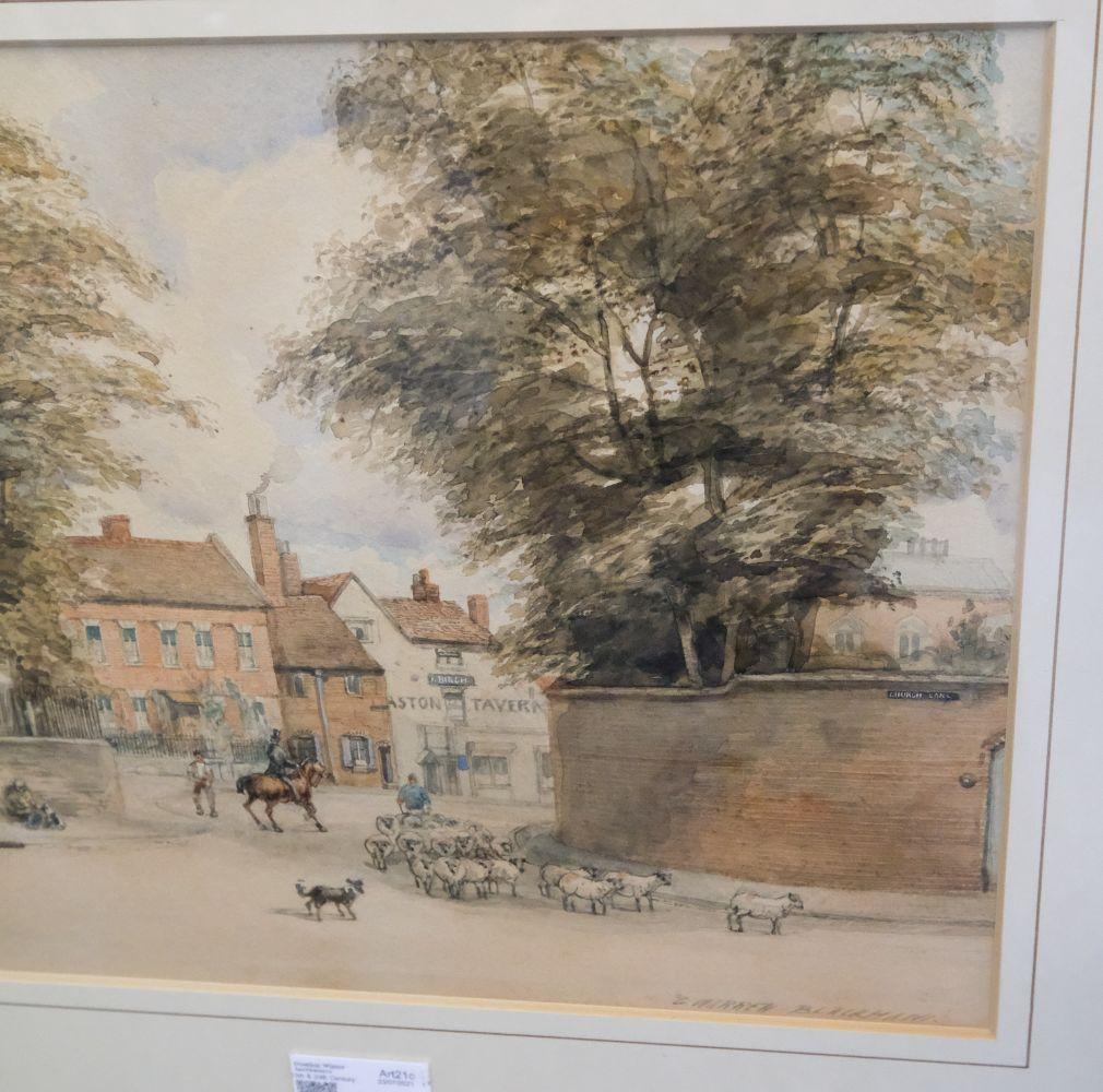 * Blackham (George Warren, active1888-1906). Scenes of Birmingham - Image 4 of 7