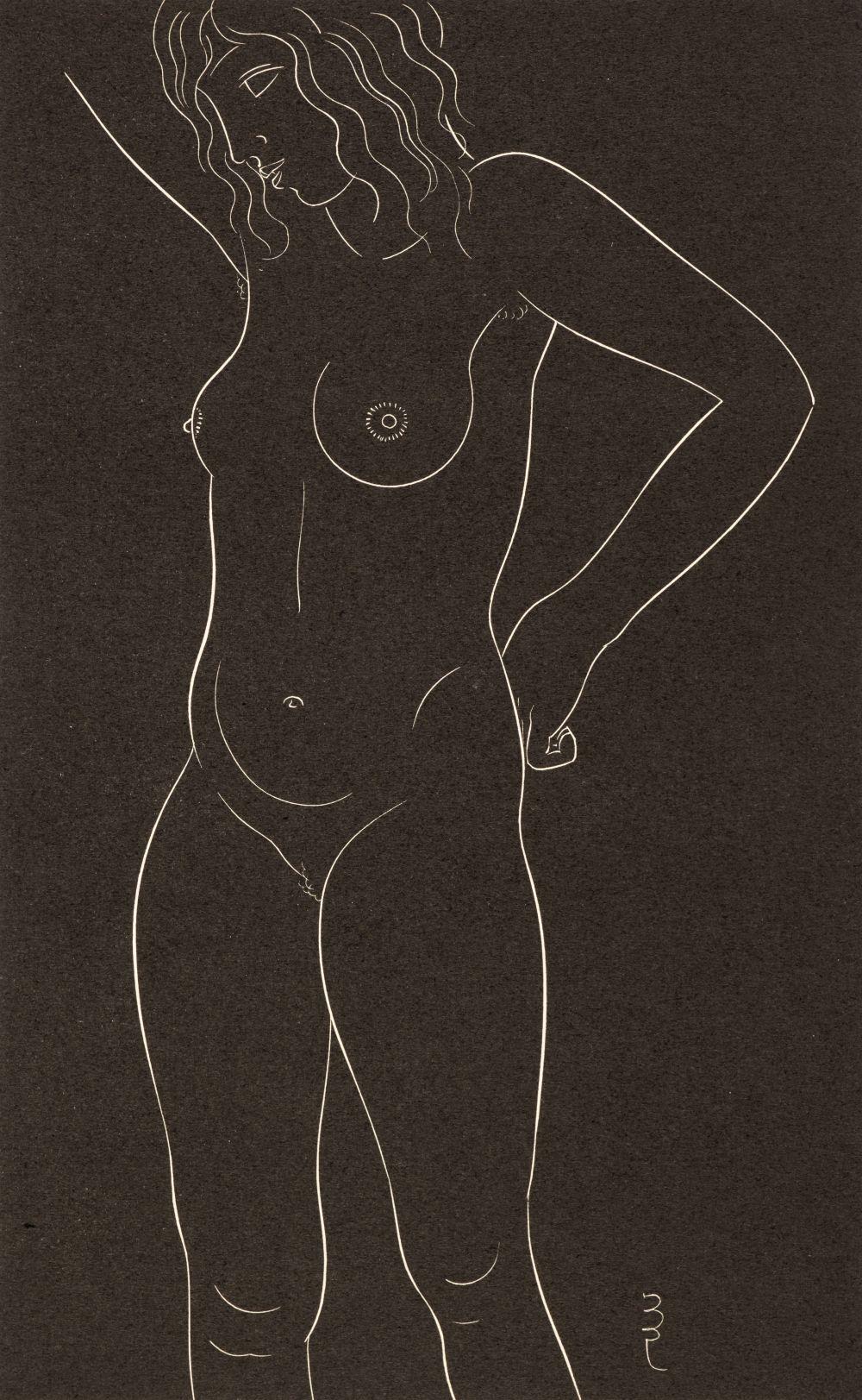 * Gill (Eric, 1882-1940). Twenty-Five Nudes: Six Plates, 1937
