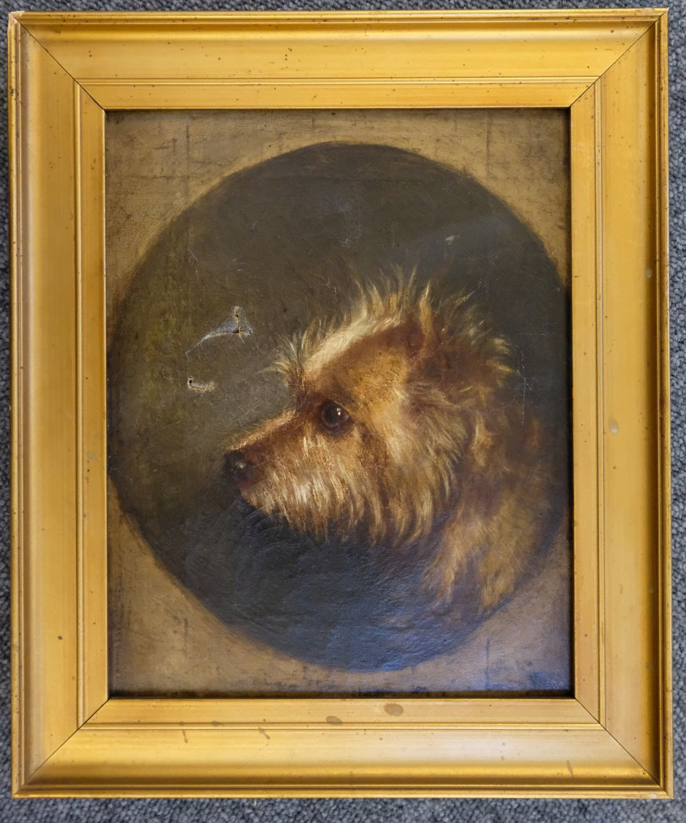 * Armfield (Edward). Portrait of a Black & Tan Terrier, 1877 - Image 4 of 5
