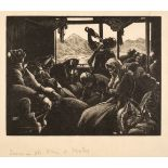* Leighton (Clare Veronica Hope (1898-1989). Dawn in the Train to Mostar