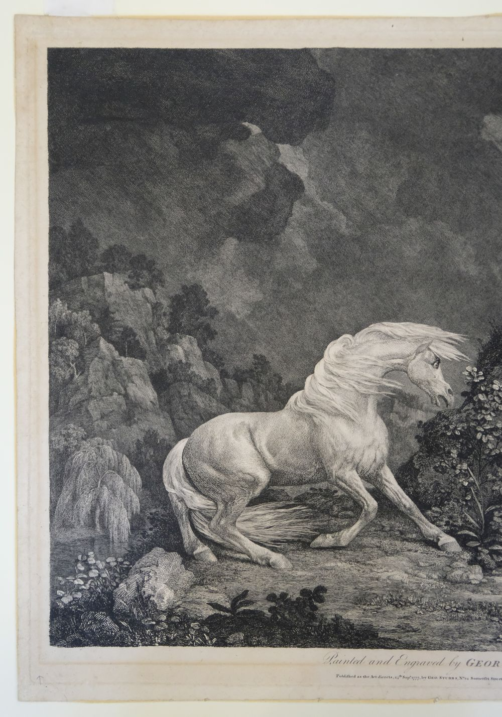 * Stubbs (George). A Horse Affrighted by a Lion, 1777 - Image 3 of 9