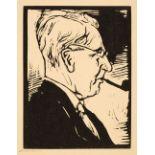 * Nicholson (William, 1872-1949). George Birmingham, circa 1932