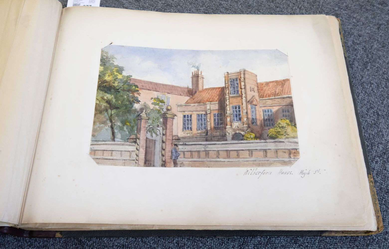 * Yorkshire. Hull and Neighbourhood, Sketches 1882-1883 - Image 4 of 15