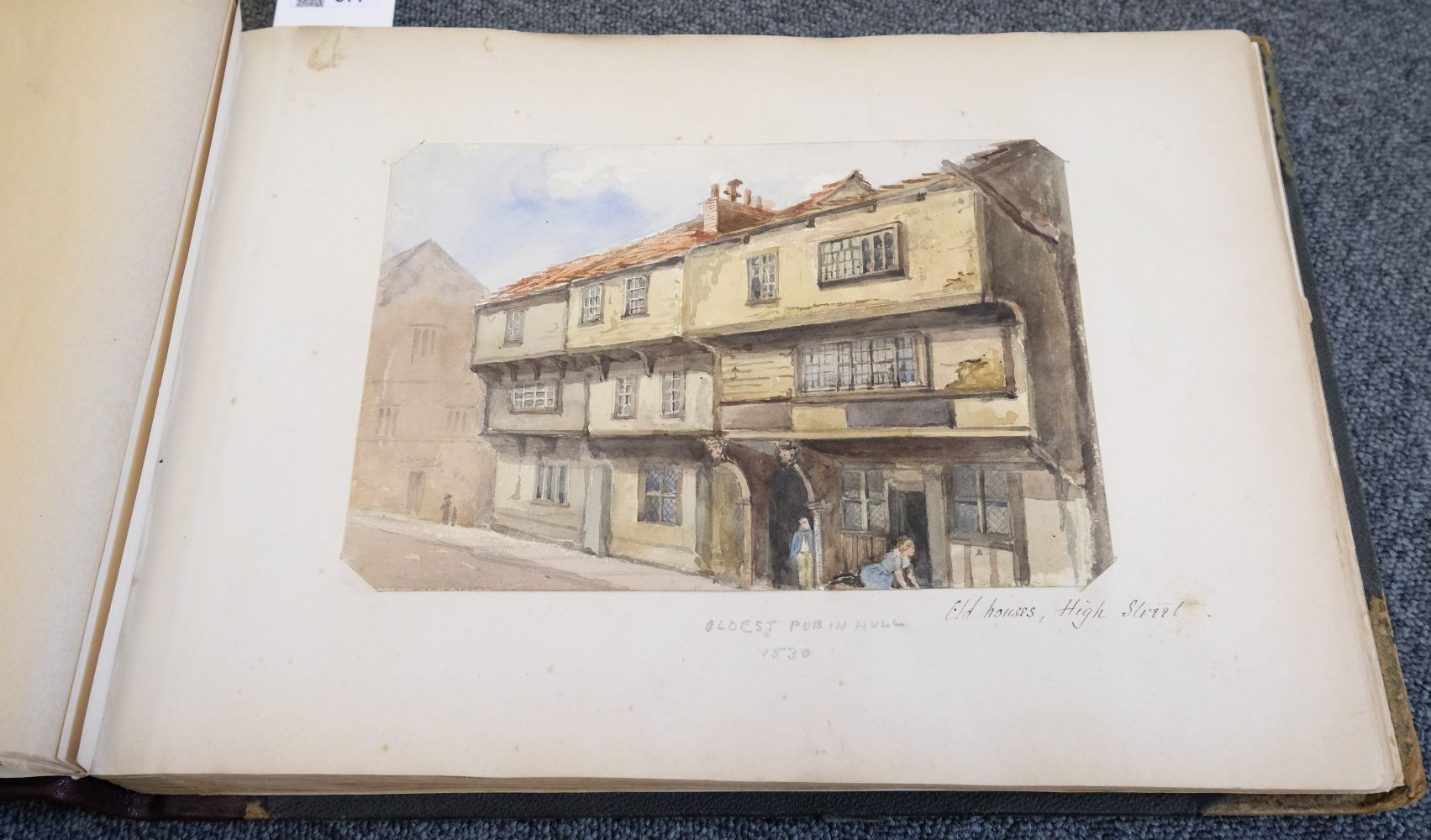 * Yorkshire. Hull and Neighbourhood, Sketches 1882-1883 - Image 6 of 15