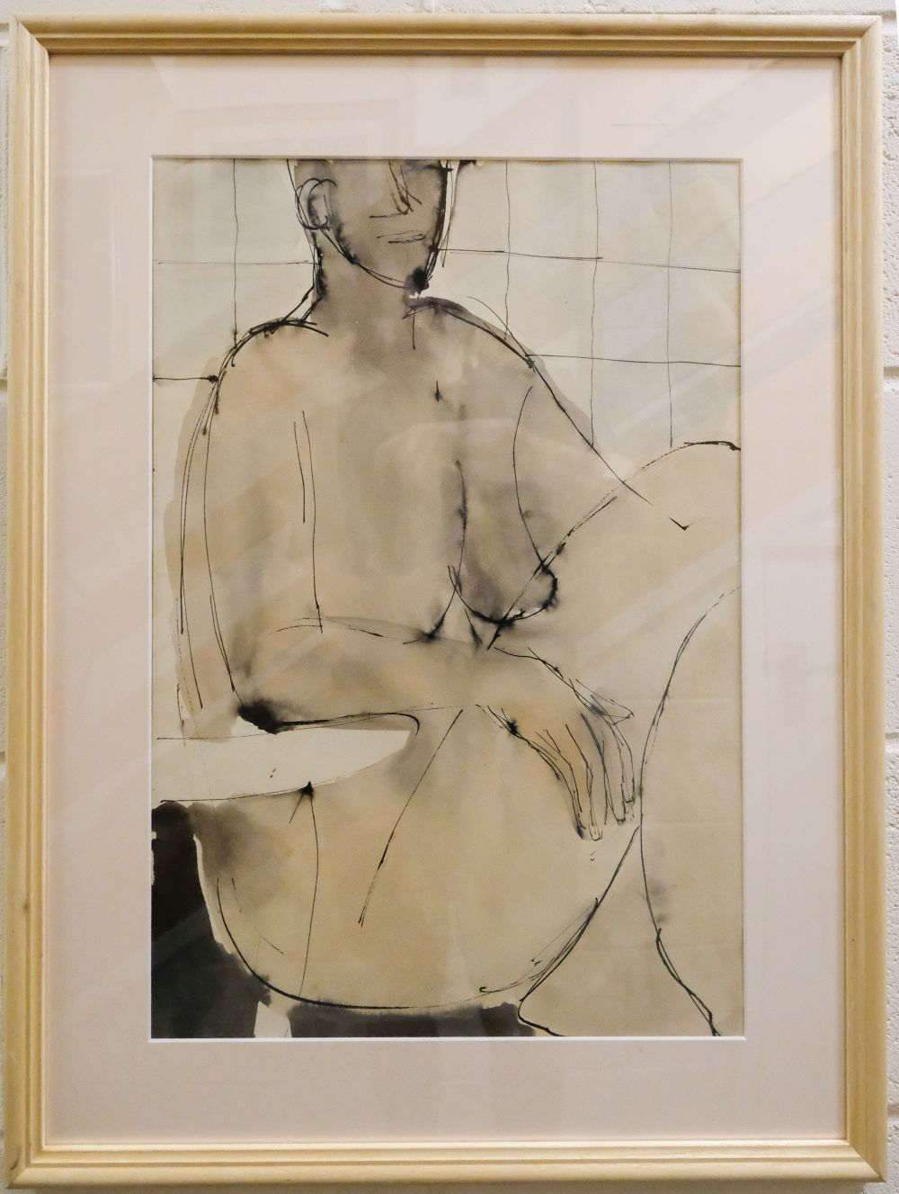 * Emanuel (John, 1930-). Nude in foetal position, and one other similar - Image 3 of 3