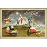 * Tunnard (John, 1900-1971). Holiday, 1947, colour lithograph, and one other School Print