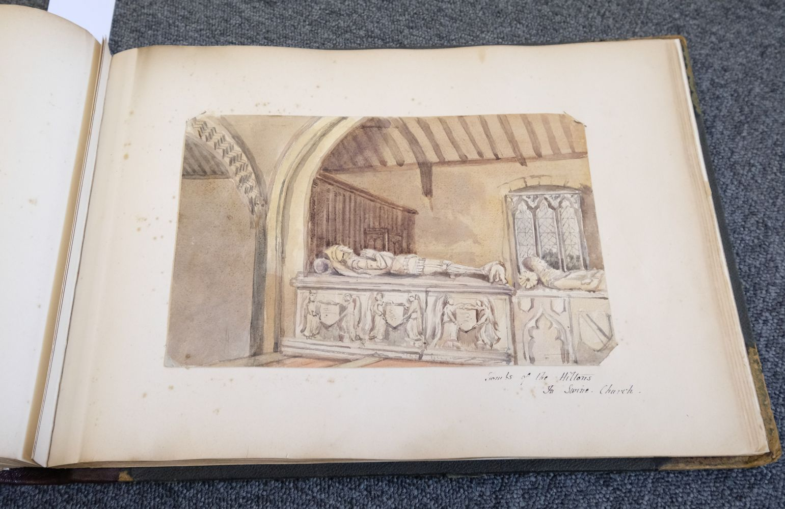 * Yorkshire. Hull and Neighbourhood, Sketches 1882-1883 - Image 15 of 15