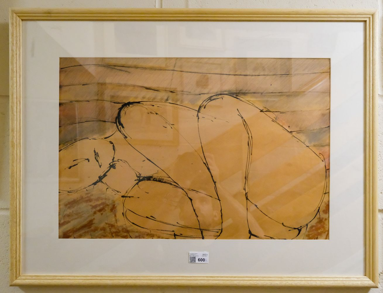 * Emanuel (John, 1930-). Nude in foetal position, and one other similar - Image 2 of 3