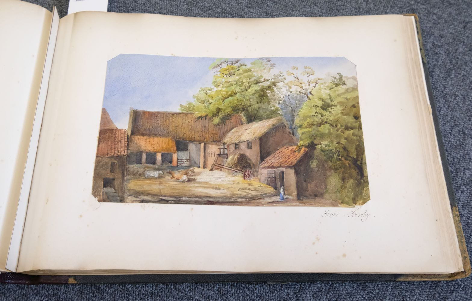 * Yorkshire. Hull and Neighbourhood, Sketches 1882-1883 - Image 11 of 15