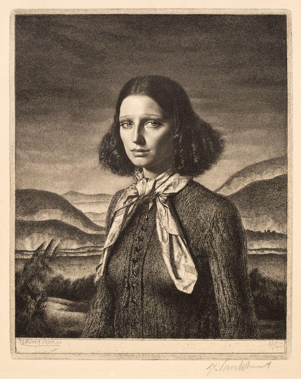 ARR * § Brockhurst (Gerald Leslie, 1890-1978). Dorette, 1932
