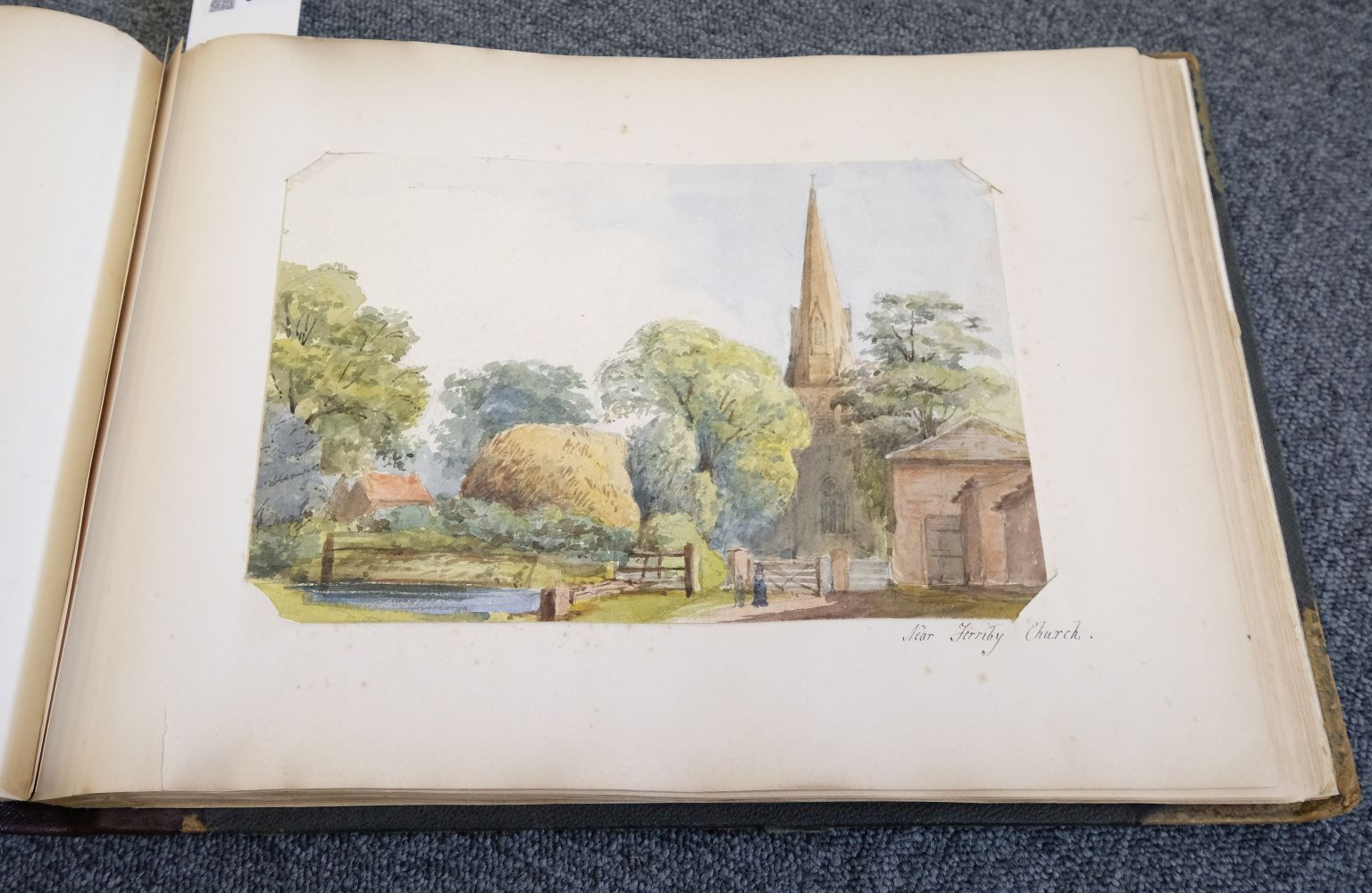 * Yorkshire. Hull and Neighbourhood, Sketches 1882-1883 - Image 12 of 15