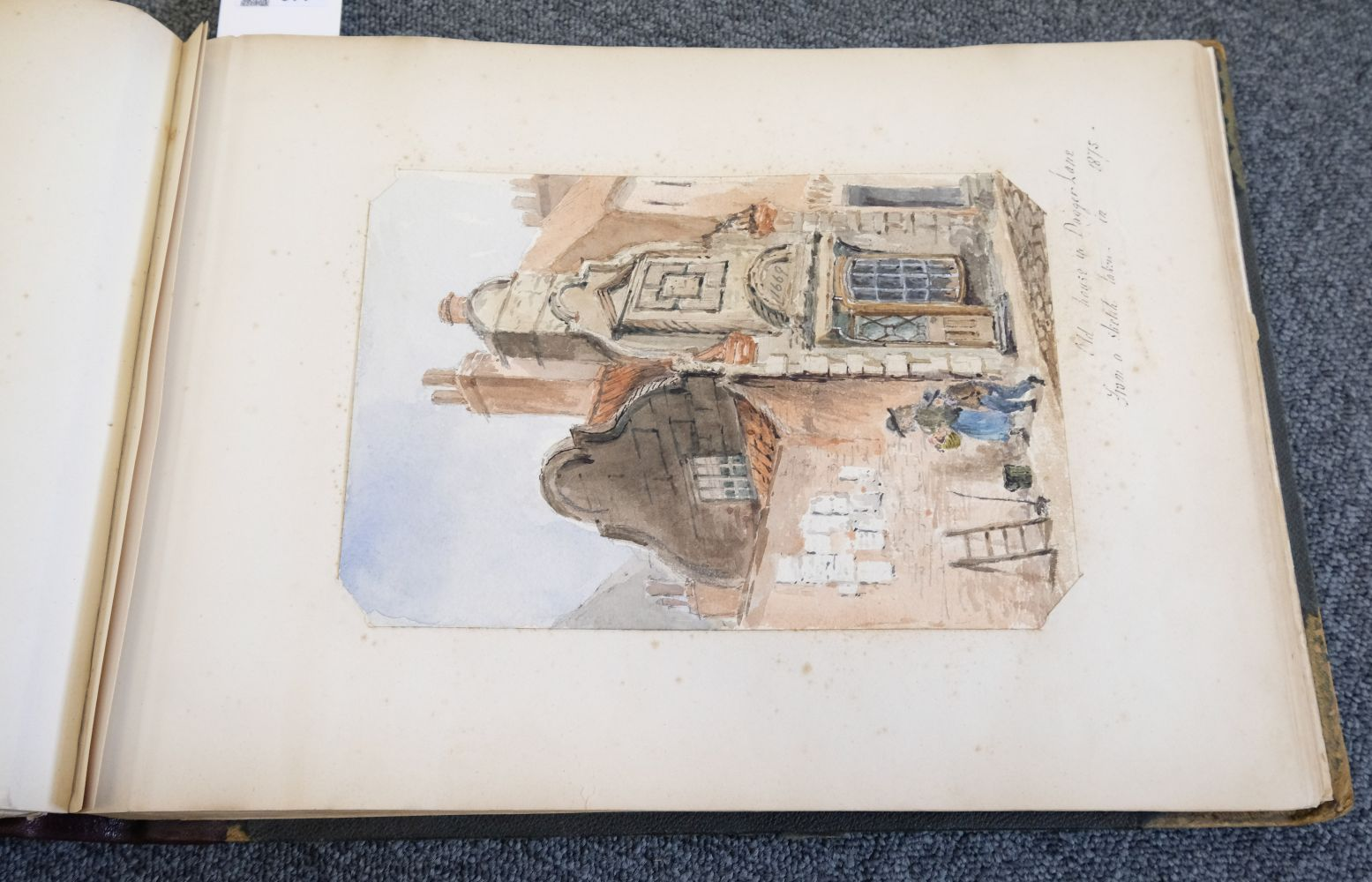 * Yorkshire. Hull and Neighbourhood, Sketches 1882-1883 - Image 8 of 15