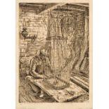 ARR * § Holloway (Edgar, 1914-2008). Mr Marshall, Basket Maker, 1937