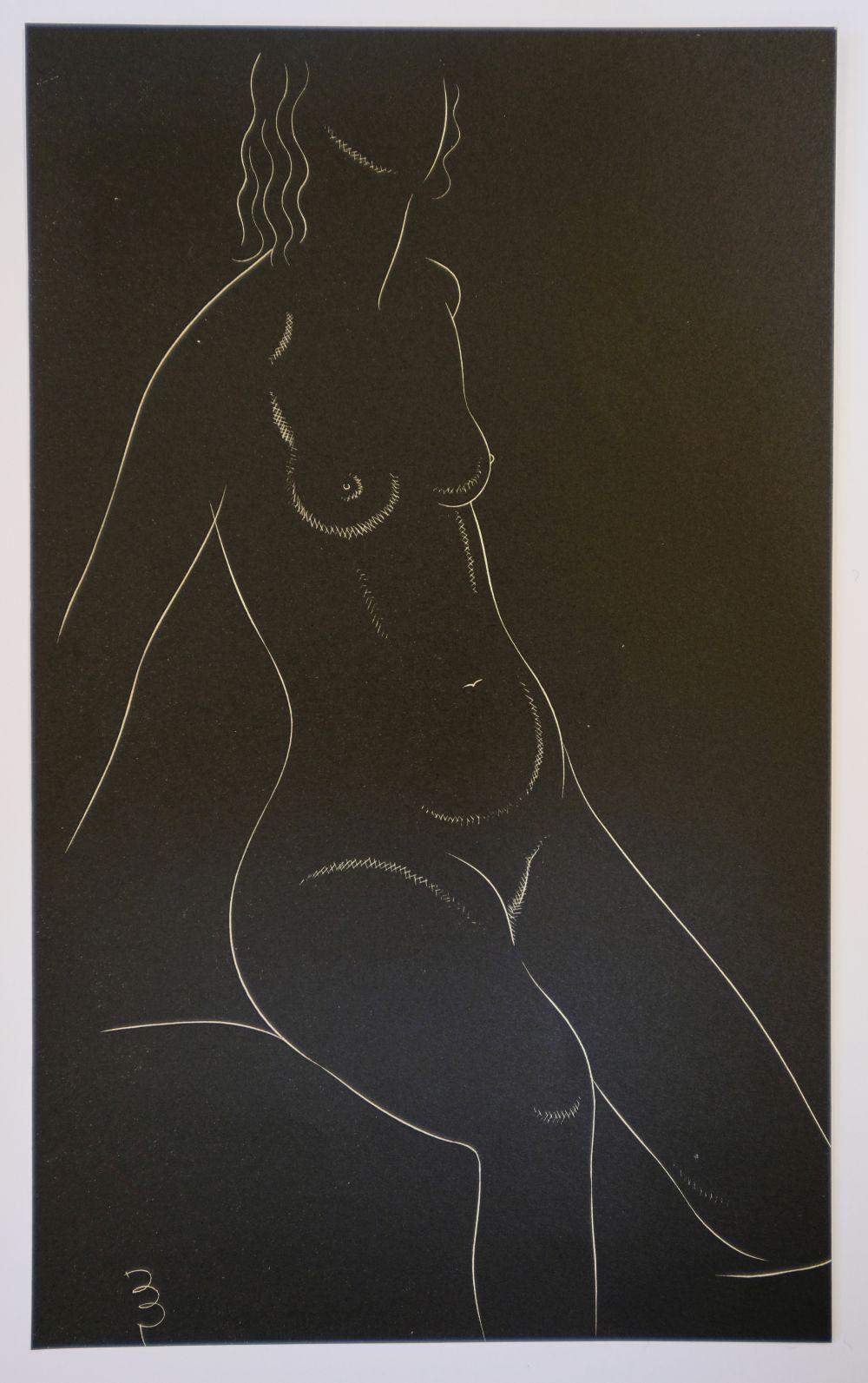 * Gill (Eric, 1882-1940). Twenty-Five Nudes: Six Plates, 1937 - Image 7 of 7