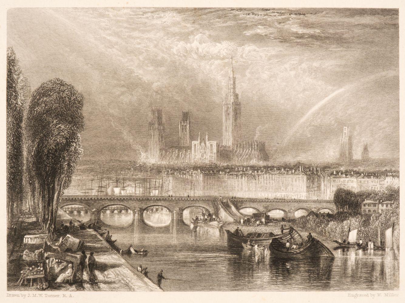 * Turner (Joseph Mallord William, 1775-1851). Twenty Illustrations to Turner's Annual Tour for 1834