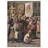ARR * § Pilawski (Wieslaw, 1916-1972). Corpus Christi, circa 1950
