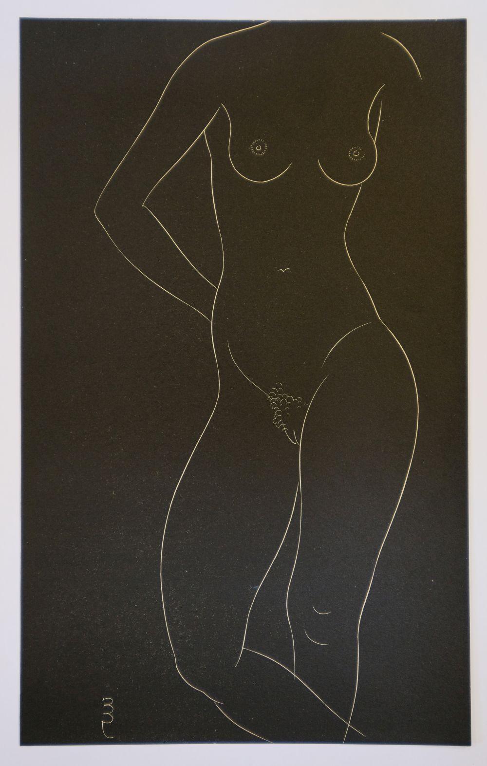 * Gill (Eric, 1882-1940). Twenty-Five Nudes: Six Plates, 1937 - Image 6 of 7