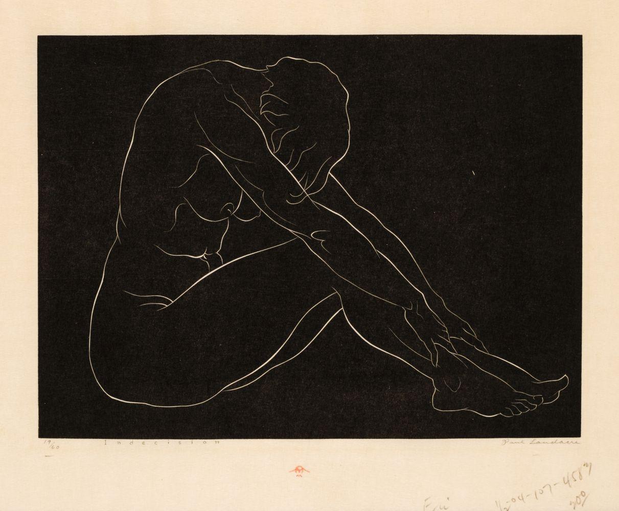 * Landacre (Paul, 1893-1963). Indecision, 1935