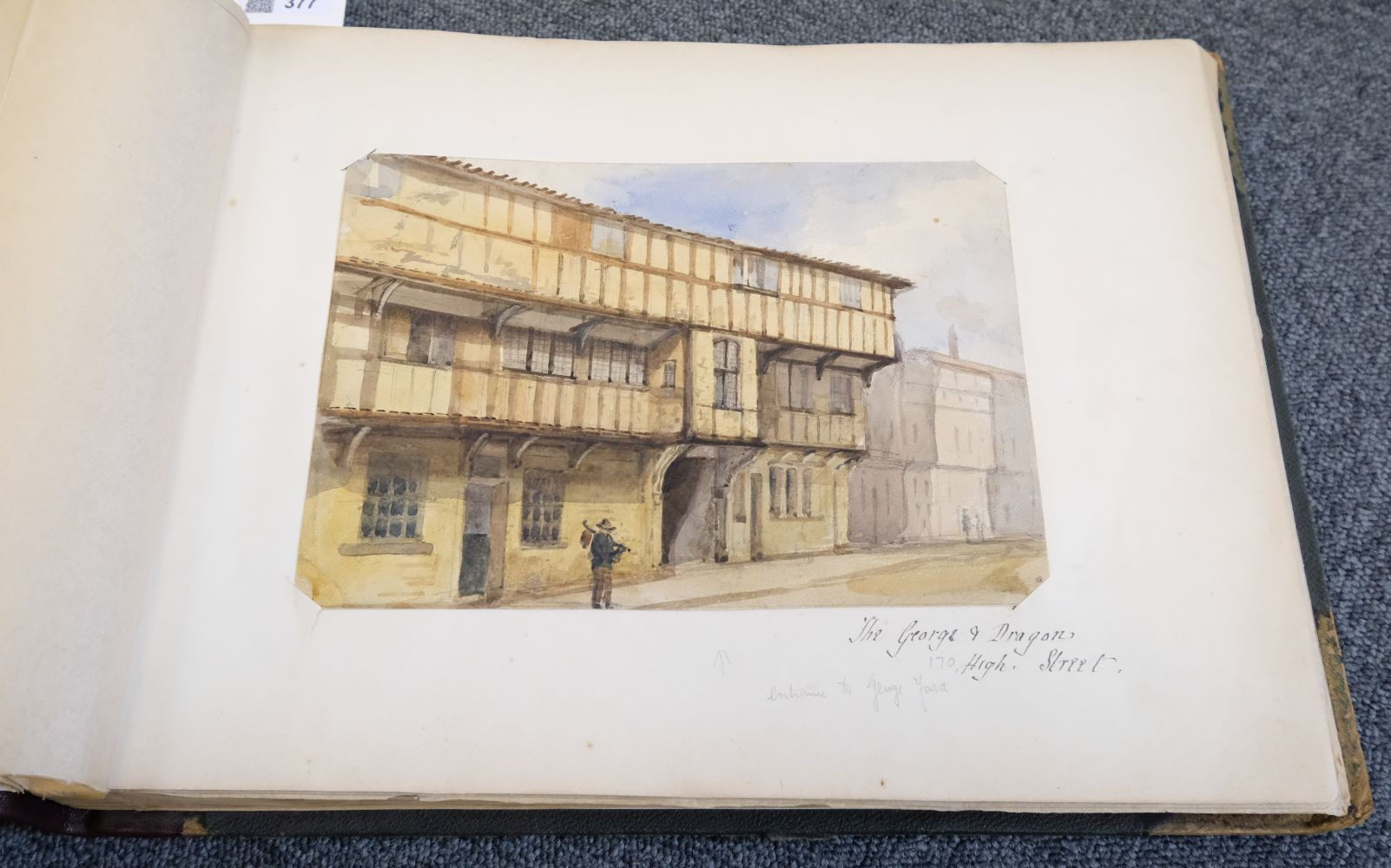 * Yorkshire. Hull and Neighbourhood, Sketches 1882-1883 - Image 5 of 15