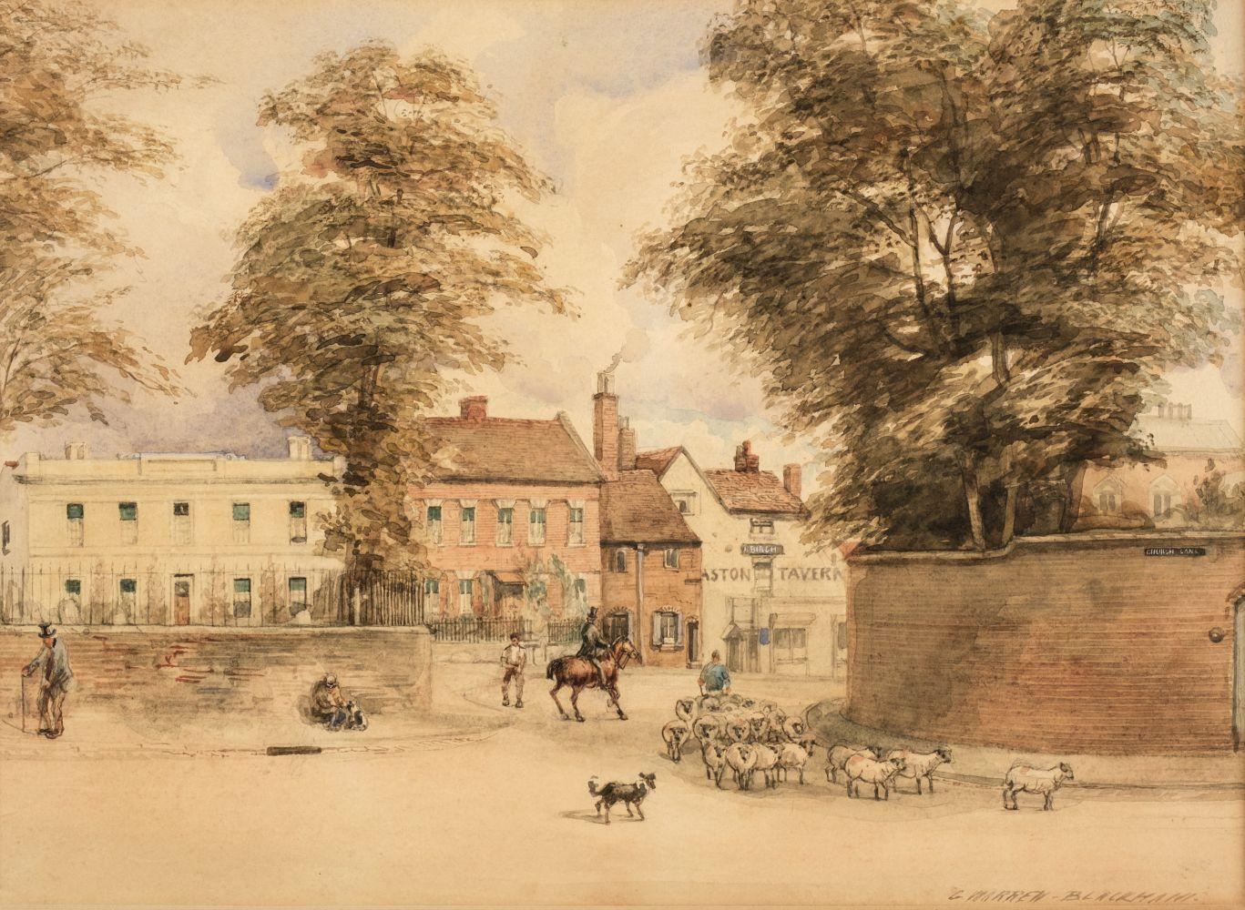 * Blackham (George Warren, active1888-1906). Scenes of Birmingham